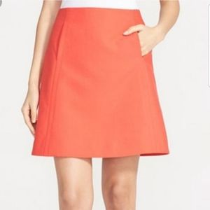 Kate Spade pink a line skirt